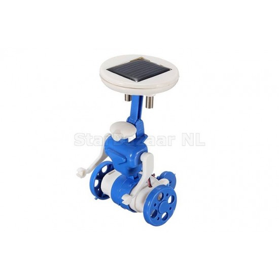 6 IN 1 Solar Toy DIY Robots