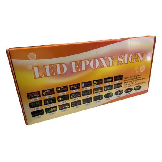 LED Lamp Bord Open met twee opties