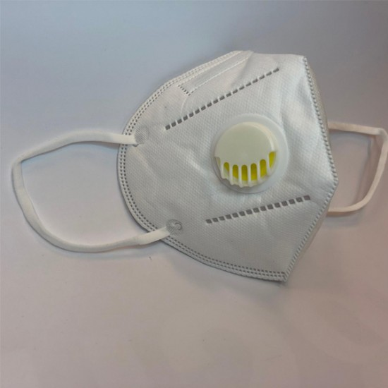 Mondmasker KN 95 met Filter-Wit