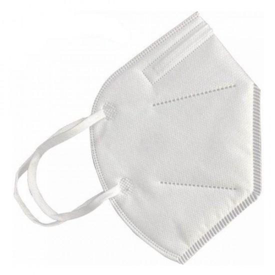 100% katoenen mondmasker-KN 95 Zonder Filter-Wit