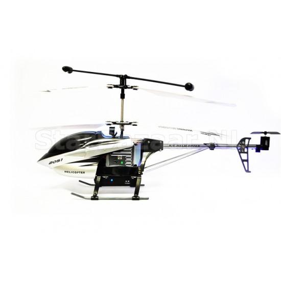 H2051 3CH RC Helikopter met Live Beeld op zender met Camera [VERSIE 2]