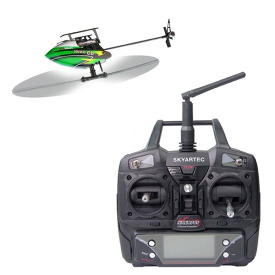 Skyartec WASP 100 NANO CP 6CH 3D LCD Helicopter