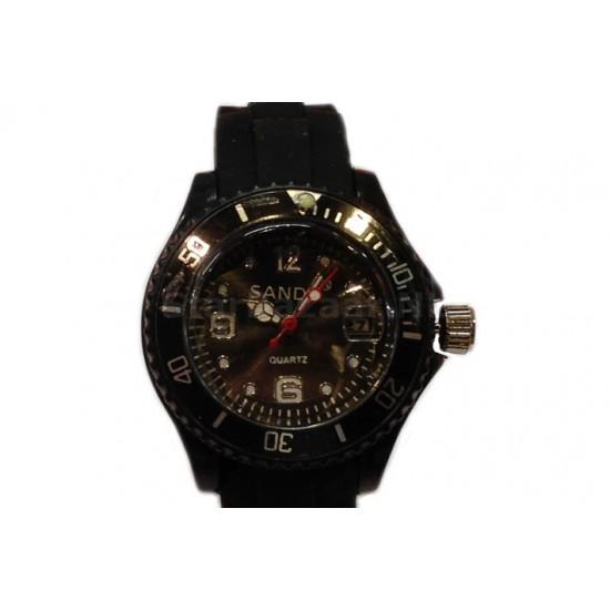 Horloge met datum in verschillende kleuren [Versie 2]