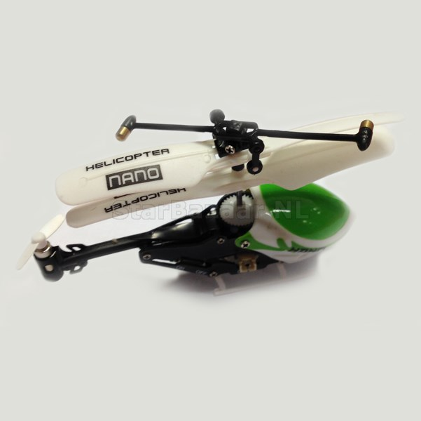 MICRO 3CH TX Helicopter Kleinste RC Heli 80mm lengte V2