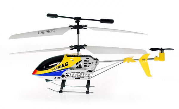 MJX T38 Thunderbird 3CH Metal RC Helicopter + Gyro