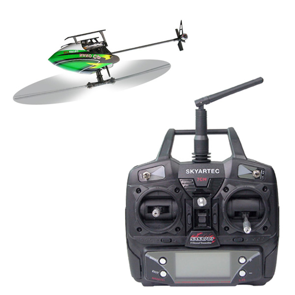 Skyartec WASP 100 NANO CP 6CH 3D LCD Helicopter Brushless