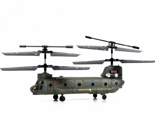 Syma S026G Mini Chinook 3CH Helikopter met gyroscoop